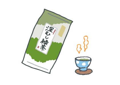 お茶のイメージイラスト