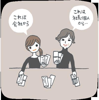 【仏式】葬儀を手伝ってくれた方へのお礼は?のイメージイラスト